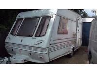 2 birth caravan with remote control movers
