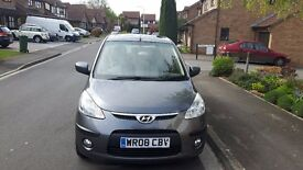 HYUNDAI I10, (2008) IDEAL 1ST CAR,CHEAP TO INSURE, USED DAILY, NEW MOT, 2 NEW TYRES