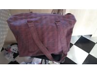 HANDCRAFT LEATHER BAG SAMPLE ONLY 28!!! SIZE40X70 CM