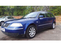 2003 03 VOLKSWAGEN PASSAT ESTATE 1.9TDI 4 MOTION MOT 5/2017 DELIVERY ANYWHERE IN UK