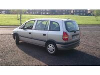 ZAFIRA, 7 SEATER, LEFT HAND DRIVE,LHD, MUST SEE!!!! REDUCED !!!!