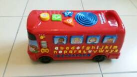 Vtech bus with phonics