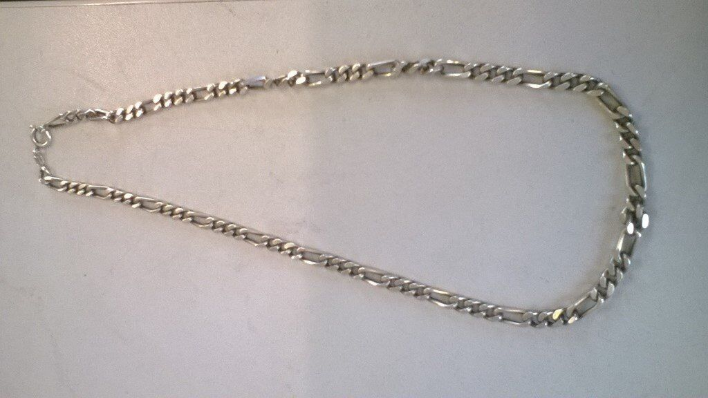 Gents Silver Neck chain