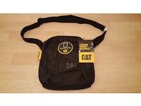 New BNWT Genuine Caterpillar Cat Tablet / Shoulder Bag Black £12 ono RRP £20
