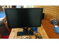 Benq xl2420t 120hz monitor plus extras