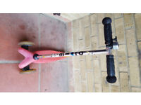 Mini Micro Scooter Pink Very good condition