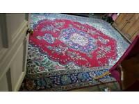 Reduced!! Massive old antique original persian wool rug