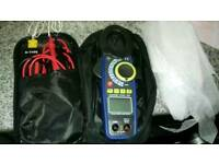 Elma 945 True RMS Clamp Meter with case and extras case and extras k type leads