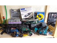 Various Power & Hand Tools