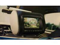 Brand new car dvd player headrest usb game play