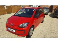 2012 Volkswagen Up, 3 months warranty and recovery included,full year MOT,service history,lady owner
