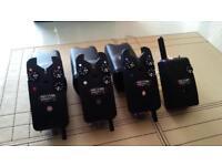3 x Delkim Txi Plus & RX Pro Receiver - Bite Alarms