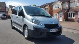 2014 (14) PEUGEOT EXPERT TEPEE 2.0 HDI 6 SEATER WHEELCHAIR ACCESS CITROEN DISPATCH FIAT SCUDO
