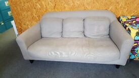Habitat 3 seater sofa and 2 chairs
