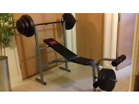 Pro Power Bench with 50kg Weight