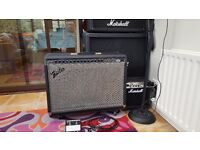130w Fender Ultra Chorus combo amp: 3 channel: clean, drive & chorus; built in reverb efx also