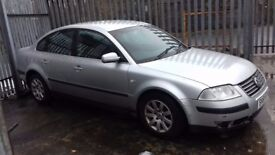 2002 VW passat 6 speed sport 130bhp