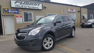 2014 Chevrolet Equinox LS-1 OWNER OFF LEASE-FACTORY WARRANTY-BLU