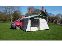 Bustent Bregenz II driveaway awning for VW Campervan, nearly new