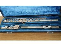 Yamaha YFL-22S Silver Flute - Good working condition