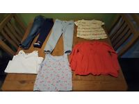 Bundle of baby girl clothes age 2-3 years