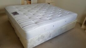 USED DOUBLE BASE AND MATTRESS.FREE LOCAL DELIVERY