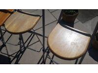 4 kitchen stools