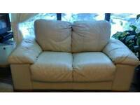 Free....leather sofa and chair