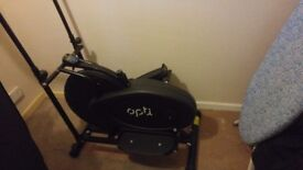 Opti 2 in 1 Cross Trainer and Exercise Bike - Almost New