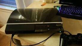 Sony PS3 + 52 games + Controller