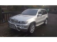 2004 bmw x5 4.4 sport FACE LIFT BODY KIT MODIFIED EXHAUST DRIVES SPOT ON FULL SERVICE HISTORY 2 KEYS