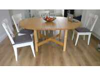 Habitat dining table - mint condition - extending table
