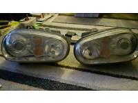 VW Golf mk4 r32 headlights