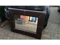 Mirror Leather Faux
