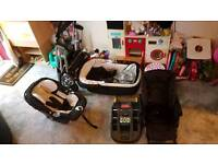 Mama and papas Maxi cosi pram and car seat