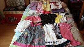 Bundle of clothes for girls - 2/3 year old