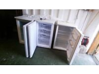 Under Counter Fridge + 2 Freezers Available