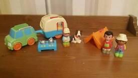 Happyland Camper Set