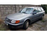 1992 Audi 100 estate 2.3 petrol left hand drive lhd export