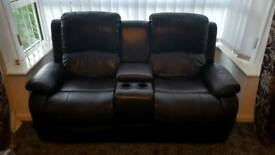 2 x 2 seater recliners
