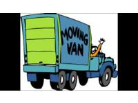 "MAN AND VAN 24/h-7 day ""STORAGE AVAILABLE"""