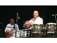 LATIN PERCUSSIONIST AVAILABLE, CONGAS, BONGO, TIMBALES, PERCUSSION.