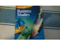 AQA GCSE BUSINESS STUDIES BOOK