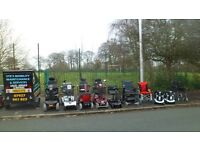 mobility scooters + powerchairs