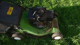 Advantage petrol lawnmower spares/repairs