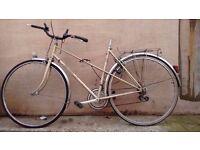 Peugeot Mixte Frame bike Needs work