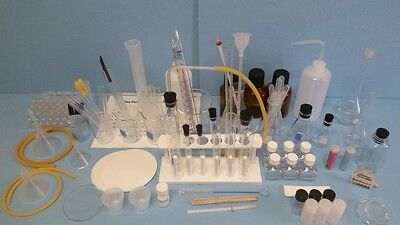 Extensive Chemistry Glassware Kit