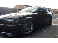 BLACK BMW MSPORT 325 CI