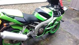 2002 Kawasaki zx6r J2