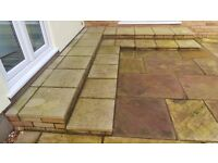 Buff Paving Slabs